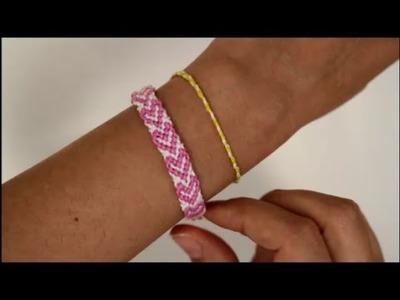 DIY: Freundschaftsarmband Herz knüpfen ♥ Deutsch Anfänger ♥ Knüpfarmband Armband Knüpfband
