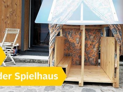 DIY Spielhaus für Kinder – Holzhaus ganz einfach selber bauen | Roombeez – powered by OTTO
