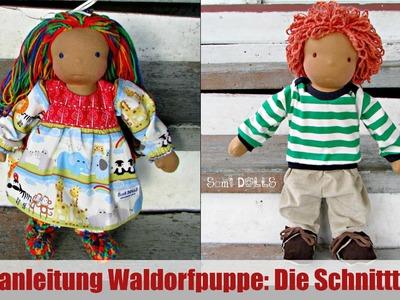 DIY | Waldorfpuppe: Die Schnittteile | Klassische Sami Doll Anleitung | Teil 2
