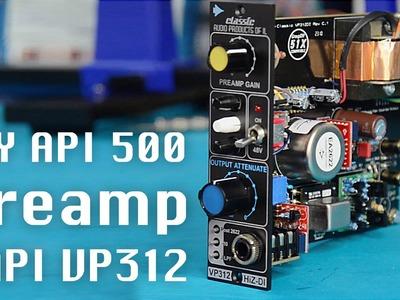 CAPI Preamp VP 312 DI – DIY Preamp im API 500 Format
