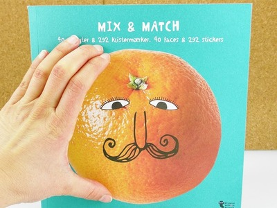 Gesichter malen und bekleben| Coole, witzige Gesichter mit Stickern gestalten | DIY für Kinder