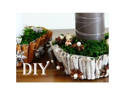 DIY: Weihnachtsdeko aus Naturmaterialien. Christmas decoration made of natural materials
