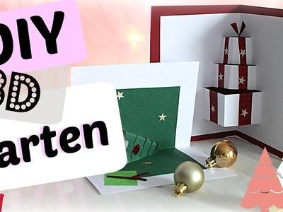 Weihnachtskarten selber basteln I Weihnachtsgeschenke I Christmas Card DIY
