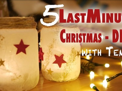 5 DIY X-Mas Ideen aus Tempos | Easy - On A Budget - Last Minute | mamiblock