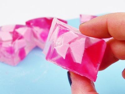 DIY Seife Mosaik Effekt | Coole Seife mit Seifenresten | DIY Idee mit Seife als Geschenk