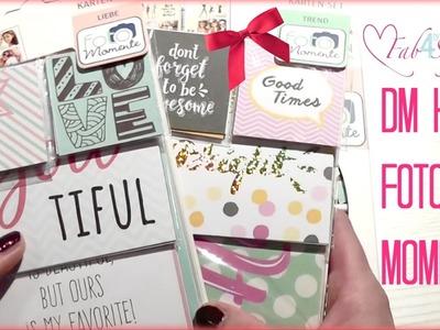 Dm Haul ☆ Fotomomente ☆ Filofax, Scrapbook ☆ Sticker, Overlays, Cut Outs