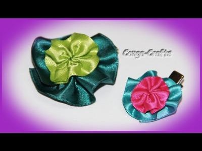 Blüten Clip. Blumen Ring. Spange. Giveaway. flower clip