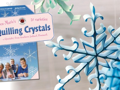 Quilling Crystals. GERMAN, ENGLISH