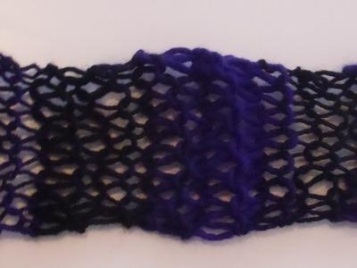 Schal stricken - einfach und  schnell - Anleitung