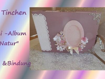 1cm Bindung für Scrapbook Alben - Mini-Album mit Tipps & Tricks