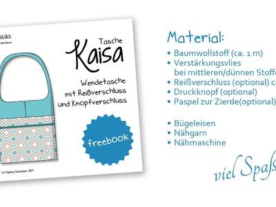 "Tasche ""Kaisa"" - Kostenloses Schnittmuster!"