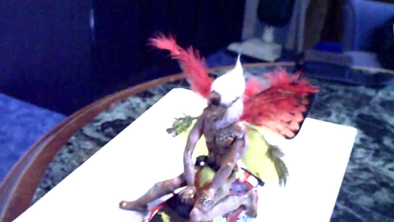 Fimo Männliche Elfen. ( Polymer Clay Figuren als Vorbild)