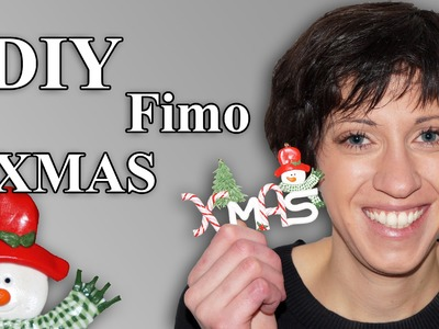 FIMO XMAS Anhänger: Polymer Pendant - Tutorial [HD.DE] (EN-Sub)