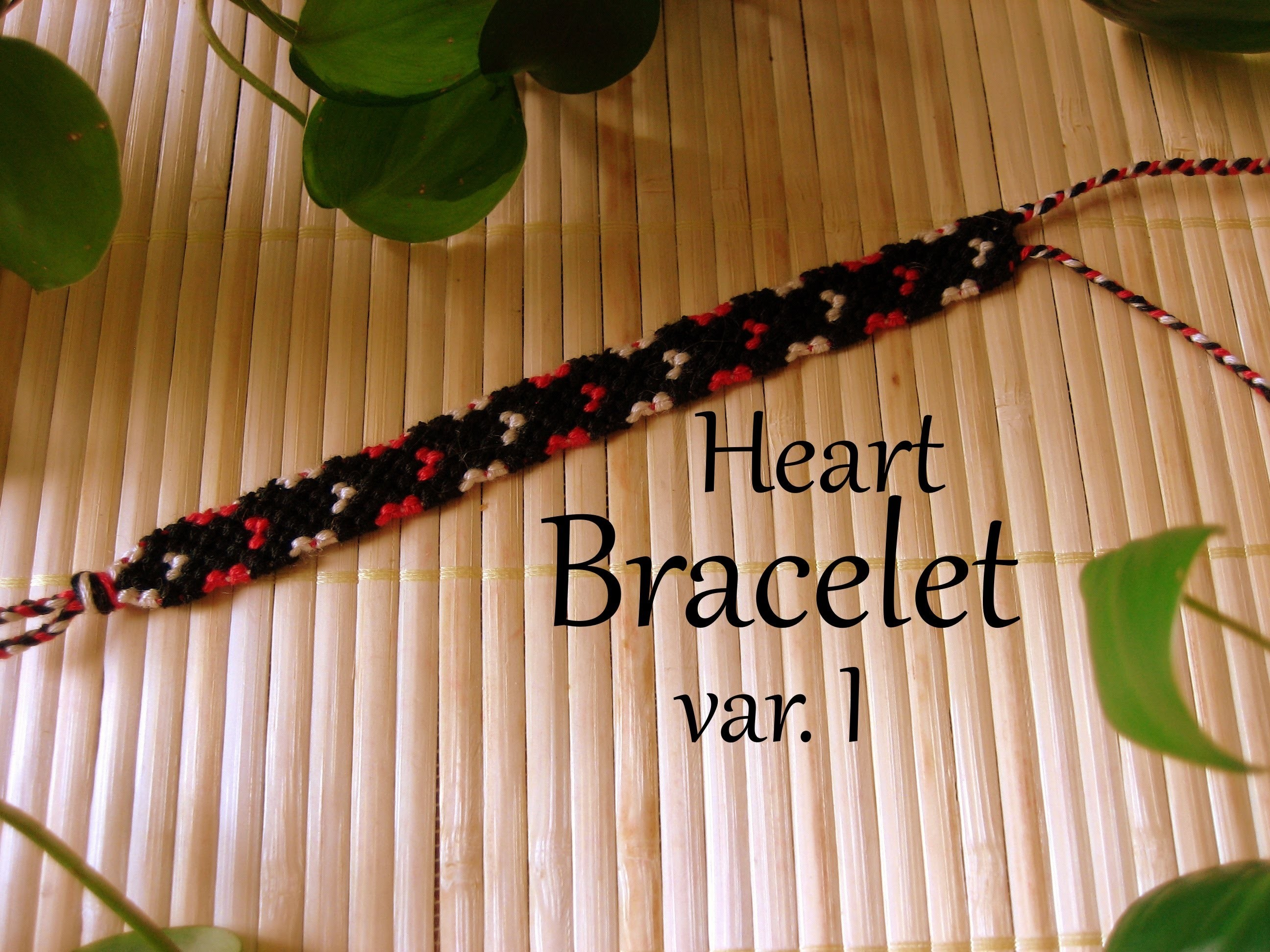 Friendship Bracelet Heart var  I