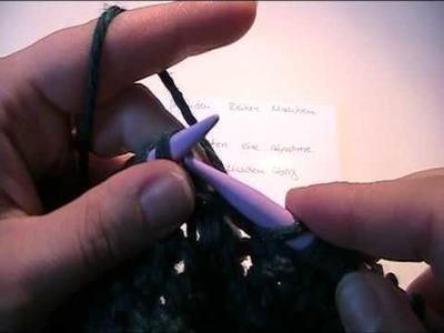Teil 3 Beaniemütze stricken - Video Strickanleitung