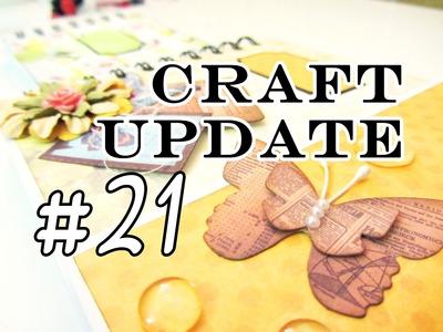 Bastel Update #21 - Im Scrapbook-Rausch :D