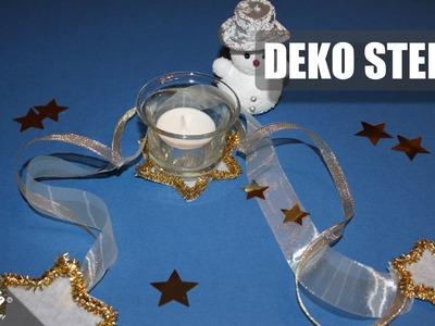 Deko Sterne. Decorative Star. Weihnachtsdeko. Christmas Decorations