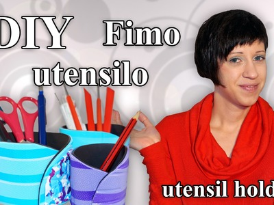 FIMO Utensilo: Polymer Clay Utensil Holder - Tutorial [HD.DE] (EN-Sub)