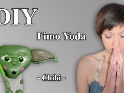 FIMO YODA: Polymer Chibi - Tutorial [HD.deutsch]