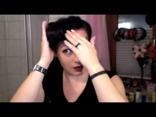 Hair Tutorial 50ies Tolle mit Fake-Victory Rolls (deutsch)
