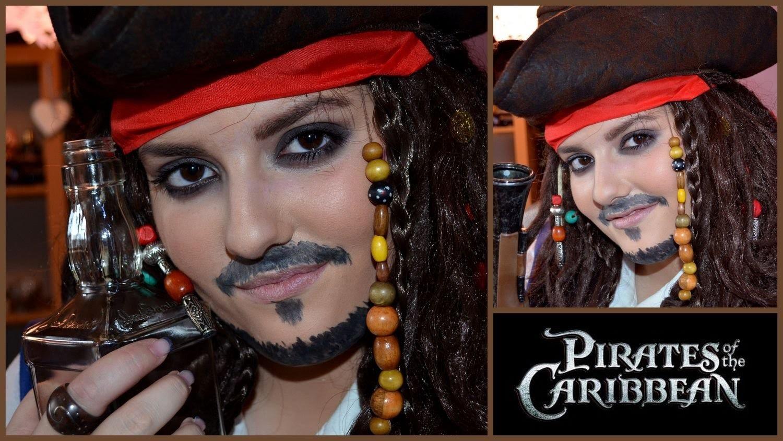 Karneval Lookbook 1# Captian Jack Sparrow Tutorial (MakeUp + DIY Kostüm))