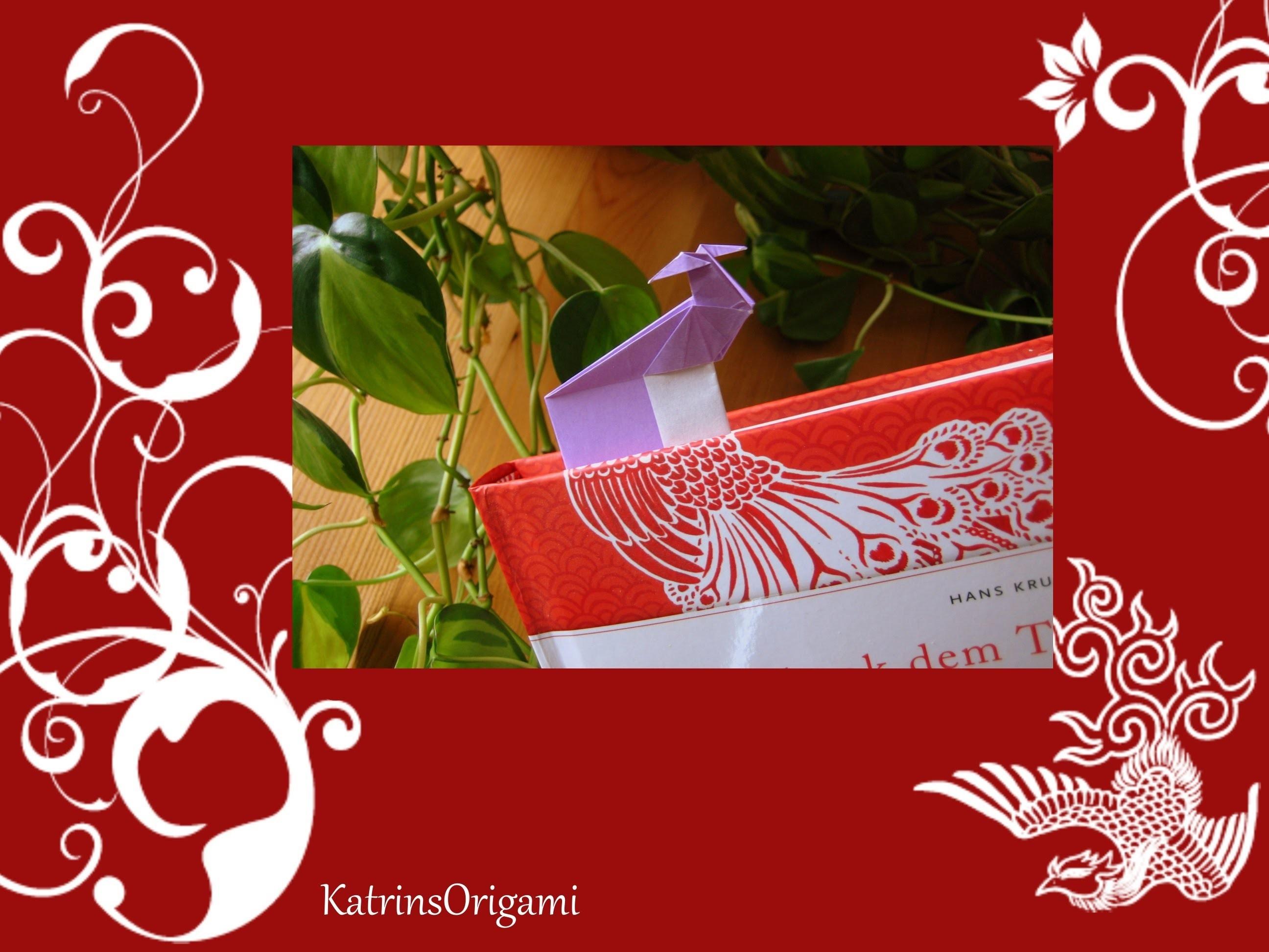 Origami ❀ Bird ❀ Bookmark