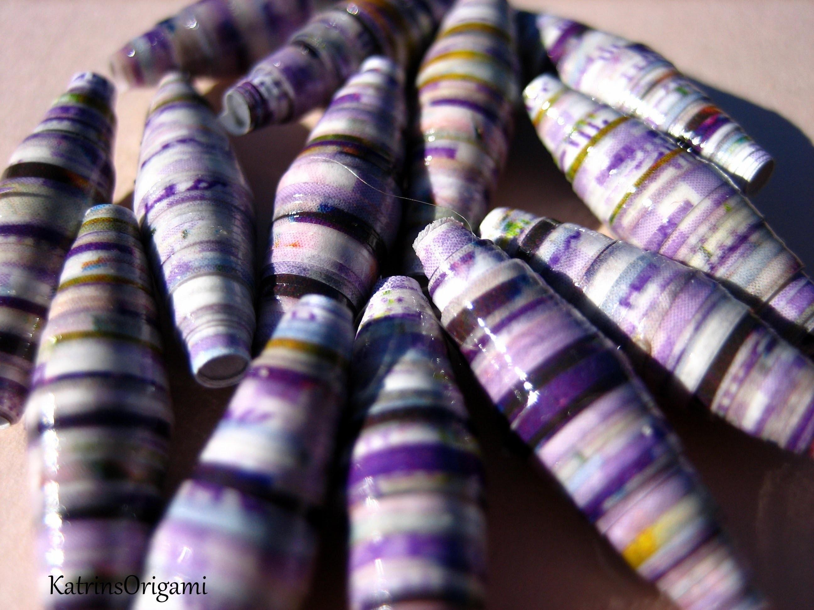 Paper Beads ♥ Perlen aus Papier ♥