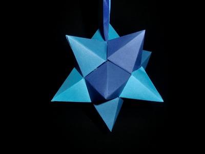 Papierstern zum Aufhängen: Easy Star - Paper Craft - Tutorial [HD.DE]