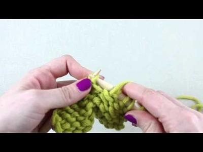 Simple Stylish Stricken - Tutorial: Strickkurs Technik 7: Zunehmen - 1 Masche links