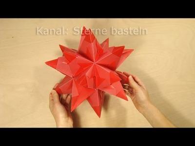 origami sterne basteln fr belstern basteln weihnachten. Black Bedroom Furniture Sets. Home Design Ideas