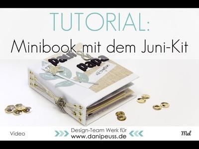 Tutorial für eine Fadenbindung | Mini aus dem DP Junikit
