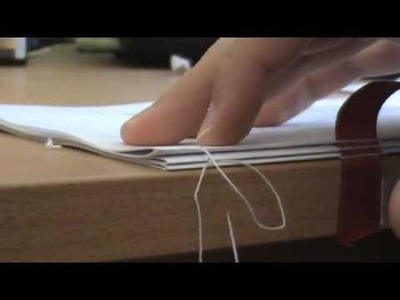 Wie man ein Buch bindet
