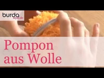 Burda style – Pompon aus Wolle
