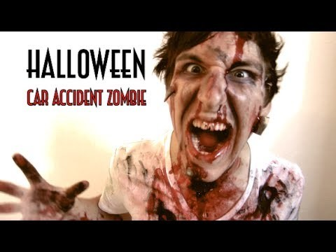 Car Accident ZOMBIE - HALLOWEEN Do-it-Yourself Costume! *SCARY* Tutorial