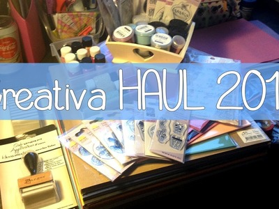 [CRAFT ROOM] #50 Creativa HAUL 2013 (Dortmund)