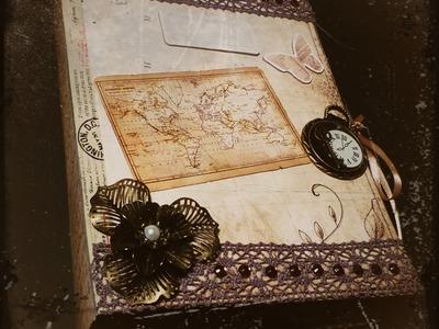 [Craft-Update] Scrapbook im Vintage-style
