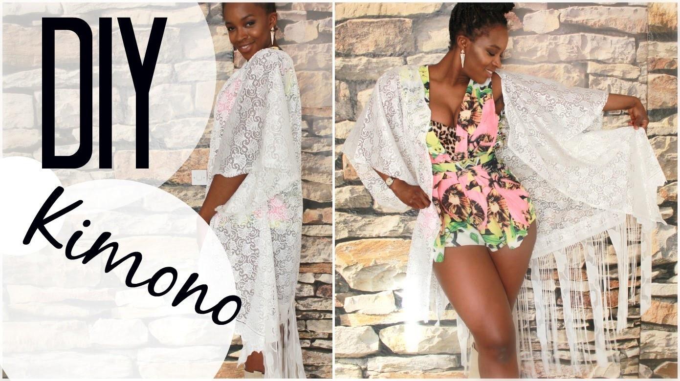 DIY Kimono I Cardigan I Boho I Hippie I Coachella Look