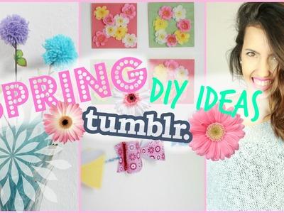 DIY Tumblr inspired Spring Room Decor