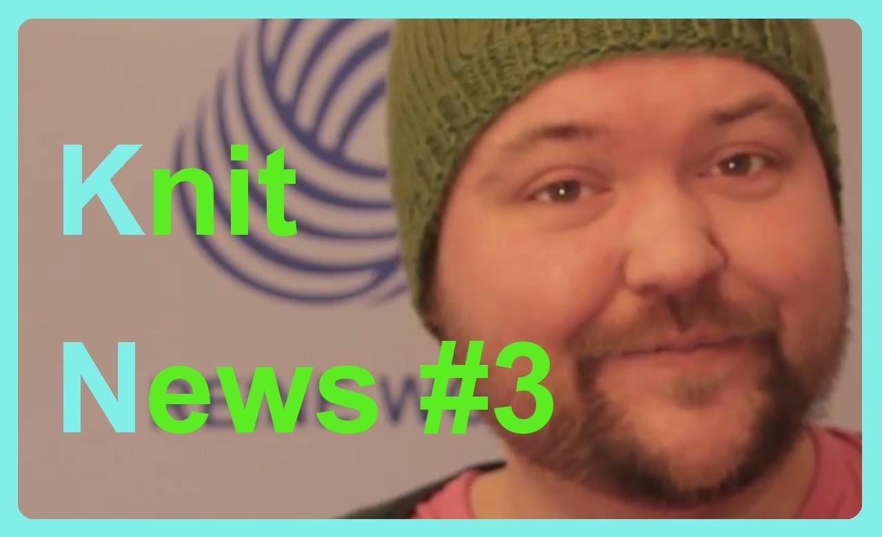 Gestrickte Cornflakes. Knit News der Woche #3