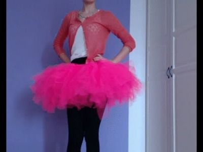 How to: DIY Tutu ohne Nähen. without sewing