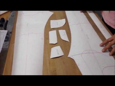 How to make a Jeans Pattern. Papierschnitt für Jeans