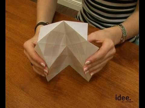 Idee. Tipp Nr. 015 - Origami - Lampenschirme