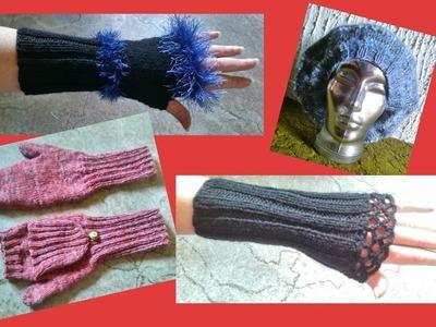 Mützen, Pulswärmer, Armstulpen & Handschuhe