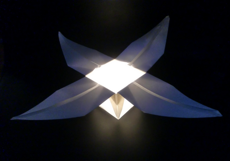 Origami Blumenschalen-Teelicht: Teacandle Flower - Tutorial [HD.deutsch]