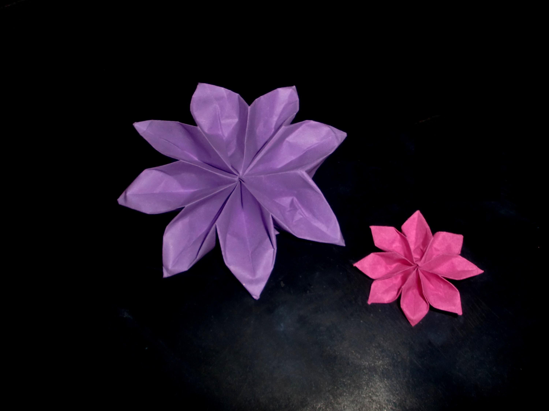 origami dahlie dahlia tutorial hd. Black Bedroom Furniture Sets. Home Design Ideas