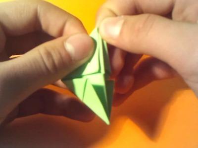 Origami Figur falten - eine Faltanleitung