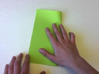 Origami Körbchen selber machen - Papierkörbchen basteln