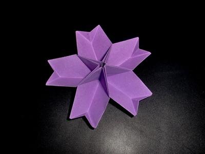 Origami Pfirsichblüte: Peach-Bloom - Tutorial [HD]