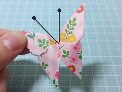 Origami Schmetterling Leicht Anleitung! Blumen