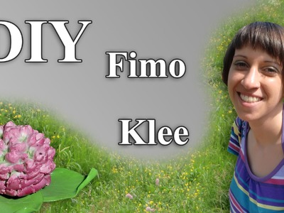 Polymer Clover-Blossom (FIMO Klee) Flower-Technqiue - Tutorial [HD.DE] (EN-Sub)